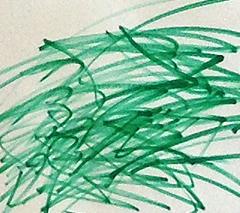 弧状の往復線描き