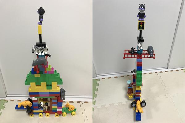 レゴブロックの船