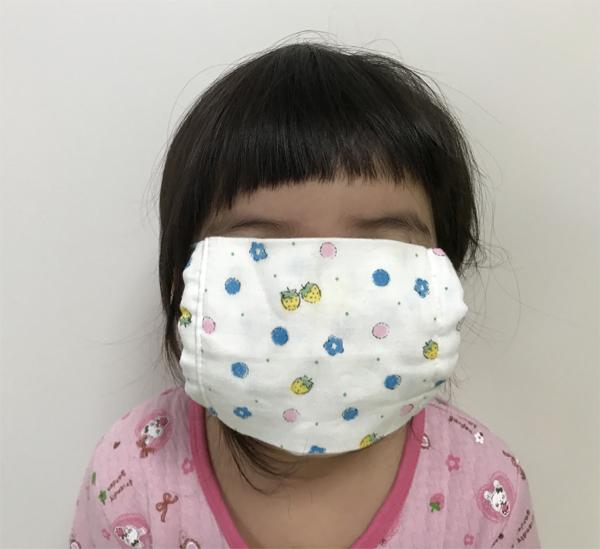 マスクが大きい