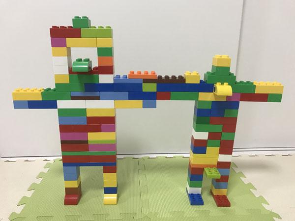 レゴブロックのロボット