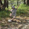 子どもとサッカー練習!上達した長男の姿に感動!