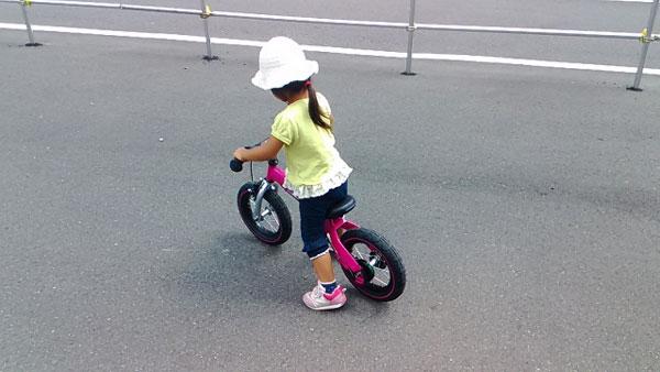 自転車練習