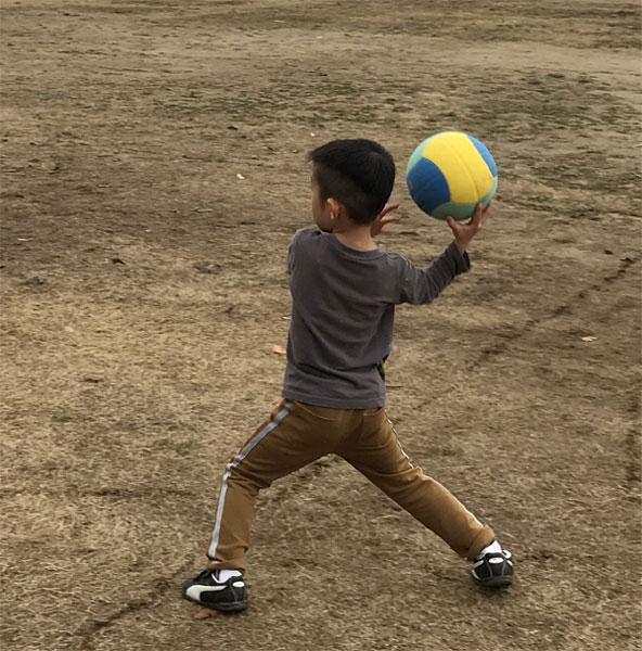 ドッチボール練習