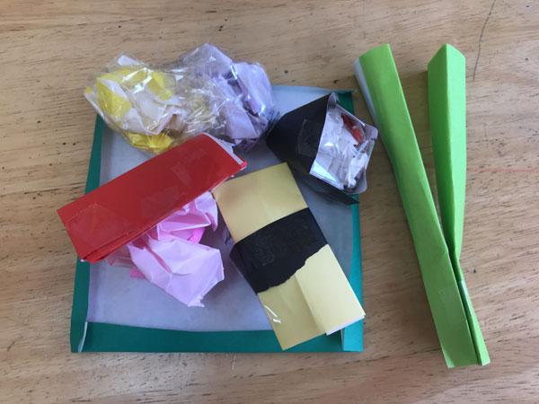 折り紙お寿司