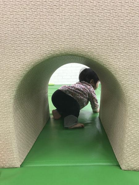 トンネル遊び