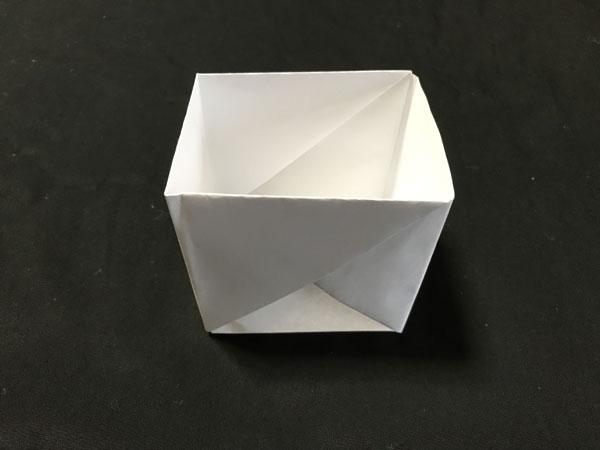 コピー用紙で作る箱