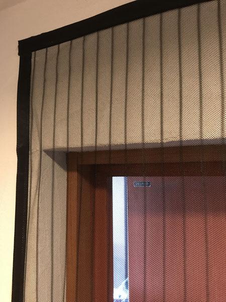 虫よけカーテン