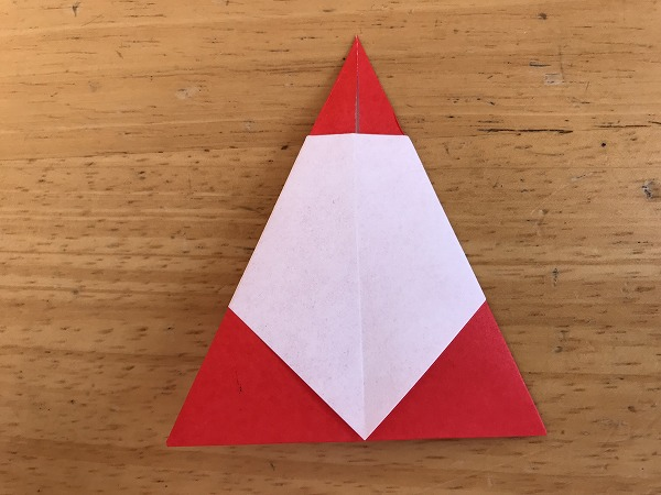 折り紙サンタ