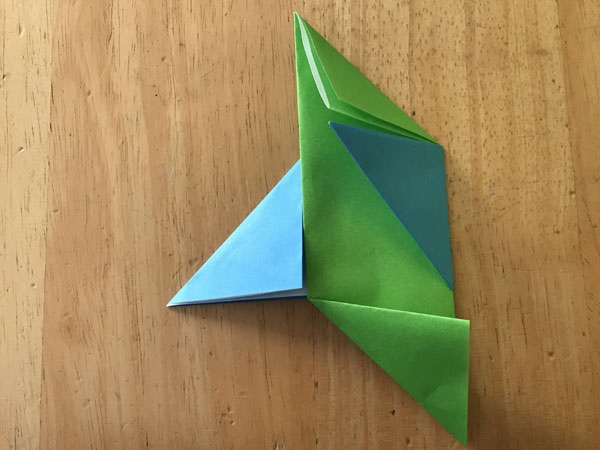 折り紙コマ