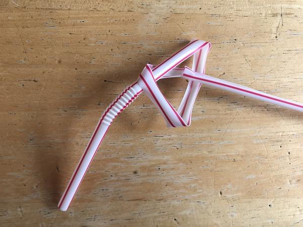 ストロー六角形