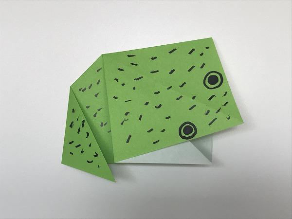 平面カエル